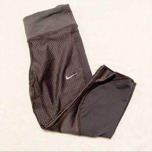 Nike Dri fit Running Cropped Leggings XS